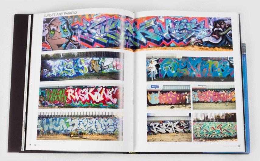 A graffiti book by a legend.