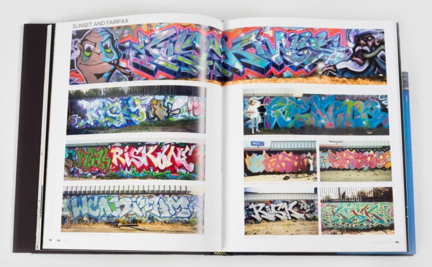 A graffiti book by a legend.